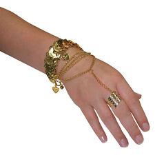 Danseuse arabe #belly désert princesse main bijoux accessoire robe fantaisie gold