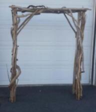 Rustic Driftwood Wedding Arbor Garden Archway Nautical Beach Arch Ceremony Ar1