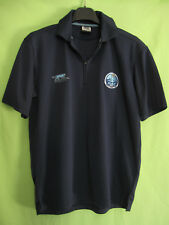 Polo HAC Havre Athletic Club Airness Football Vintage Maillot Marine Jersey - L