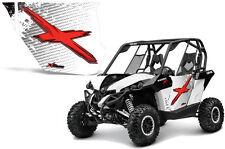 AMR Racing Can-Am Commander/Mave UTV Door Graphics Wrap for UTV Inc Doors (2) WX