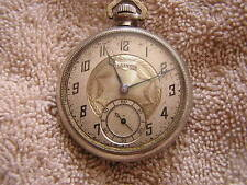 Antique Illinois  Pocket Watch 17 Jewels Stewart Special Double Roller
