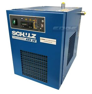 SCHULZ 20 CFM REFRIGERATED COMPRESSED AIR DRYER 115V, FOR 5HP COMPRESSORS MAX
