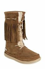 NEU Woolrich Pocono Creek Stiefel braun Wildleder/Decke, Damen Größe 6, $100