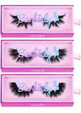 New listing 3D mink lashes 20mm real mink lashes 3 pairs fluffy dramatic false eyelashes