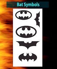 airbrush stencil Batman Bat Symbols Dark Knight Templates Stencils Spray Vision