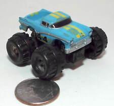 Small Micro Machine Plastic Monster Truck Ford Ranchero in Light Blue