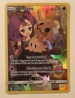 Pokemon Cosmic Eclipse Mimikyu 245/236 Full Art Secret Rare Ships Now
