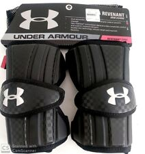 NEW Under Armour  Revenant Lacrosse Arm Guard Black- Medium