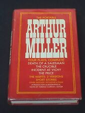 Arthur Miller The Portable Rare Signed Autograph 1st Edition Hardback Book
