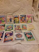Lot Of 37 Vintage Topps Garbage Pail Kids Cards Stickers