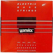 WARWICK RED LABEL 42210 ML Bass-Saiten 4-string 040-100 NEU! OVP!