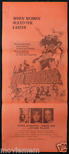 WAR GODDESS aka THE AMAZONS Original Daybill Movie Poster Terence Young