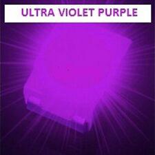 100 x ULTRA VIOLET 1210 3528 SMD SMT PLCC-2 SURFACE MOUNT ULTRA BRIGHT LEDS
