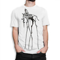 Space Elephant Dali Art T-shirt, Salvador Dali Tee, Men's Women's All Sizes
