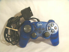 Yobo PSX or PlayStation 2 Double Shock 2 *Clear Blue* - used