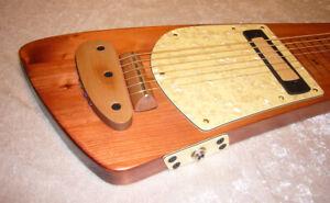Tupian Lapsteel - elektrische Slide-Gitarre Fingerstyle -- Sondermodell