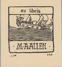 Ex-libris M.-A. ALLEN - Australie.