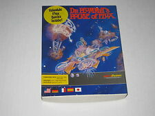 Dr. Plummet's House of Flux (Amiga, 1989) Rare, Vintage Game