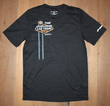 New Men's BROOKS Black Silver Running Jogging Shirt - Las Vegas Marathon - XS
