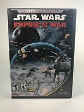 Star Wars: Empire at War Video Game PC CD-ROM, 2006 Lucas Arts 3 Disc Complete