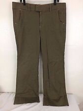 GAP Dress Pants Stretch Women's Brown Boot Cut Trouser/Pant-16
