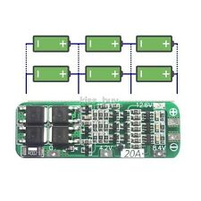 3S 20A Li-ion Lithium Battery 18650 Charger PCB BMS Protection Board 12.6V Cell