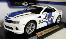 Maisto 1/18 scale 46629 2010 chevrolet camaro ss rs police diecast voiture modèle