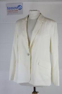 Mint Velvet Ivory Button Sleeve Blazer Size 12