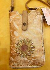 SAKROOTS Ella Smartphone Sling Crossbody ROSE GOLD SPIRIT DESERT 107854  New!