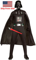 Star Wars Darth Vader Adult Costume Cosplay Costume Party Halloween Suit Black