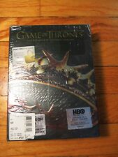 NEW Game of Thrones Complete Second Season 2 DVD's w/ Tote Bag RARE Box Set