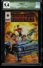 Harbinger #1 CGC NM 9.4 White Pages (Qualified)