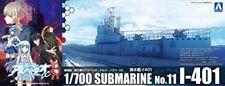 Aoshima Arpeggio of Blue Steel Submarine I-401 Plastic Model Kit from Japan NEW