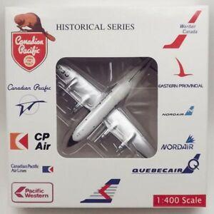 AeroClassics Canadian Pacific DC-4 'CF-CUL' 1/400 Scale Diecast Model