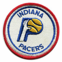 """1970'S INDIANA PACERS ABA BASKETBALL VINTAGE 3"""" OLD LOGO TEAM PATCH"""