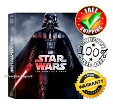 NEW Star Wars: The Complete Saga (Episode 1-6,12-Disc DVD) Box Set FAST SHIPPING