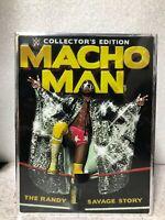 NEW WWE Collector's Edition Macho Man Randy Savage 6 DVD Box Set T-Shirt/Glasses
