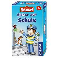 KOSMOS Kinderspiele Scout Sicher zur Schule Memospiel Memo Spiel ab 5 J. 710538