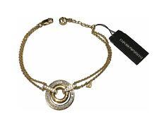 Armani Armband / Kette EG3168710 Edle Luxus Sterling Silber vergoldet Steine