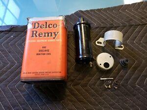 NOS Coil 1935 1947 Pontiac 1939 47 Oldsmobile 1946 7 Cadillac Delco Remy 1911441