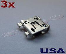 3x Micro USB Charging Port For LG G3 D850 D851 D852 D855 VS985 LS990 F400