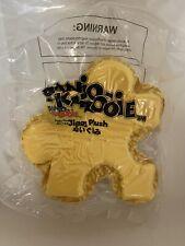 "Banjo Kazooie Jiggy Plush Pillow 13"" Official Rare Golden Puzzle Piece Plushie"