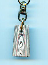 Fordite Key Chain - 30.33mm x 16.64mm x 5.68mm 1024