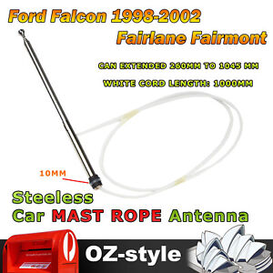 Auto Aerial Mast&Rope Antenna Repair For Ford Falcon 1998-2002 Fairlane Fairmont