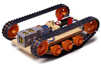 Tamiya #70108 Tracked Vehicle Chassis Kit For DIY Construction Tank Car Model
