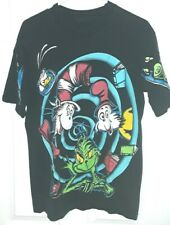 Rare Vtg Collectible Dr. Seuss Most Famous Animated Characters Adult T-Shirt (L)