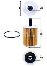 Filtre à huile pour graissage Wagenknecht Ox 188d