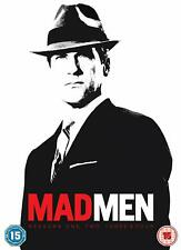 Mad Men - Series/ Seasons 1, 2, 3, 4 DVD BOXSET CULT DRAMA BARBET SCHROEDER
