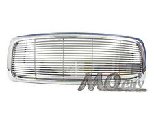 Front Billet Style Grille for Dodge 02-05 Ram 1500 Pickup 03-05 2500 3500 CHROME