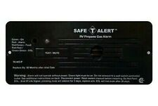 Safe-T-Alert 30-442-P-BL Black Flush Mount Propane Gas Alarm